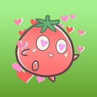 Kato Little Tomato Sticker