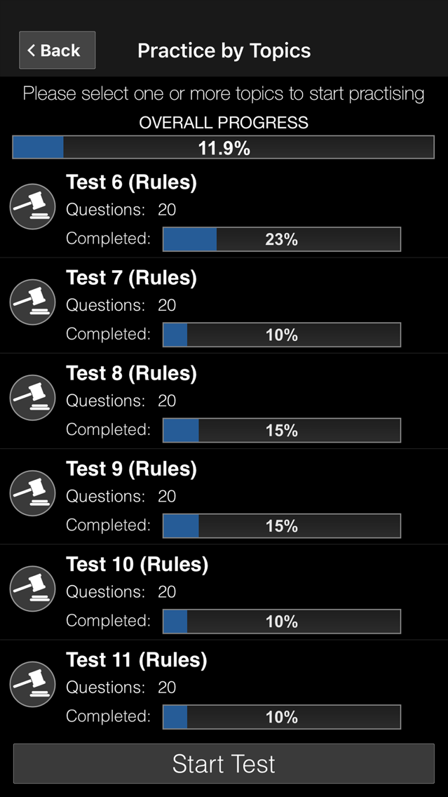 DMV Motorcycle Permit Test US App for iPhone - Free Download