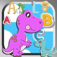 dinosaur learning english basic games for kids V2