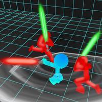 Stickman Neon: Sword Fighting