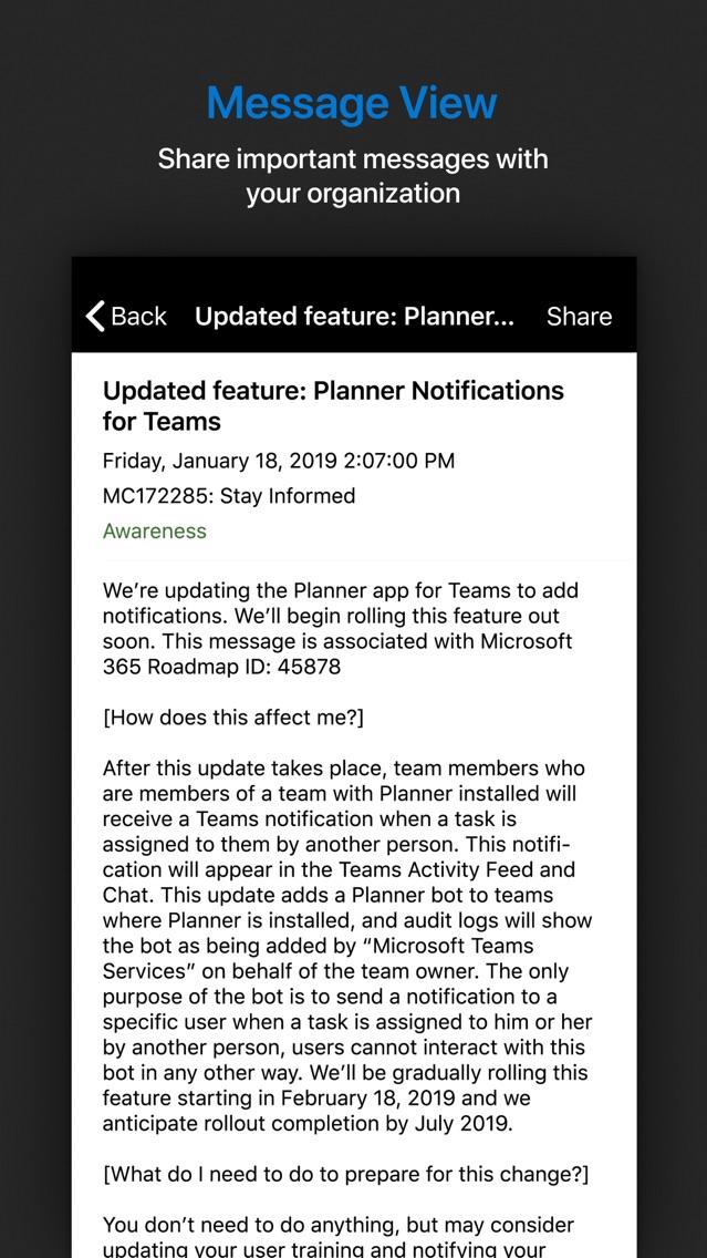 Microsoft 365 Admin App for iPhone - Free Download Microsoft