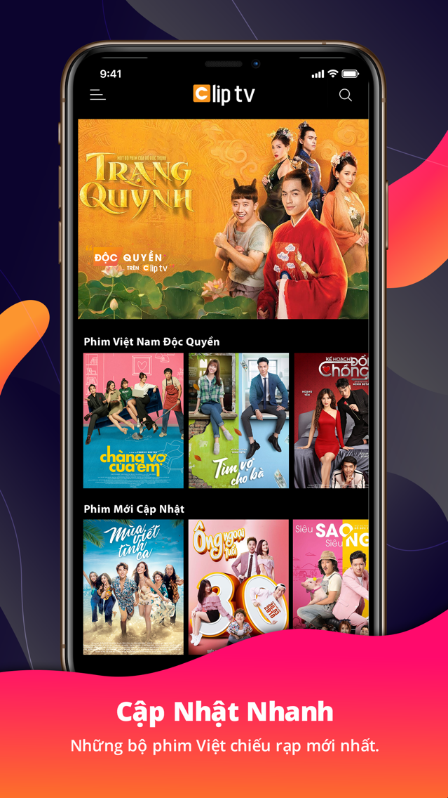 Clip TV – Truyền hình internet App for iPhone - Free Download Clip