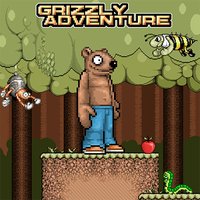 Grizzly Retro Platformer