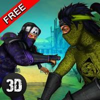 Ninja Assasin Kung Fu Fighting Champ 3D