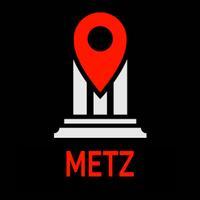 Metz Travel Guide Monument Tracker - Offline Map