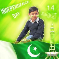 Pakistan Flag Photo Frame