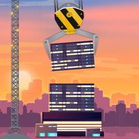Blocky Sky Tower Building Full