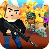 Blocky Zombie Shooter Survival