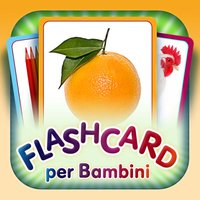 Flashcards for Kids in Italian and learning and logic game «Find a Picture»
