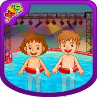 Pool Party – Crazy kids swimming & cleanup game for fun time