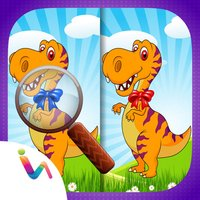 Dinosaurs Spot the Differences Game