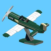 Airplane for LEGO 10242 - Building Instructions