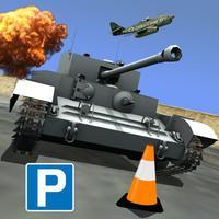 World War Tank Parking - Historical Battle Machine Real Assault Driving Simulator Game PRO