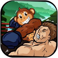 A Monkey Slap Boxing FREE - Jungle Animal Fight Challenge
