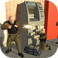 ATM Bank Robbery; Police Squad