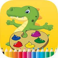Dinosaur Paint and Coloring Book - Free Games For Kids