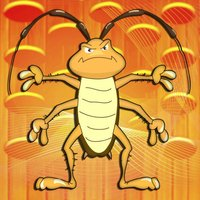 Crushed cockroaches - Tap the ugly bug game - Free Edition