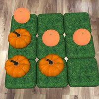 AR+3 Pumpkins In 1 Row