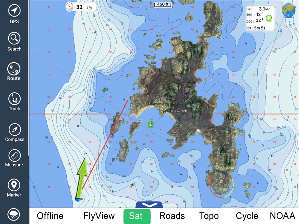 Florida Nautical Charts GPS HD App for iPhone - Free