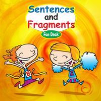 Sentences & Fragments Fun Deck