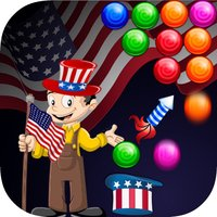 Independence Day Bubble Shooter Adventures Pro