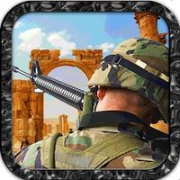 Army Gun Battle - Desert War Free