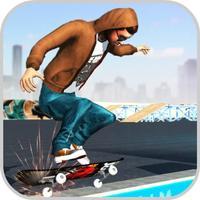 Skating City: Funny Skateboard