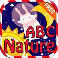 ABC Alphabet Nature Flashcard Write