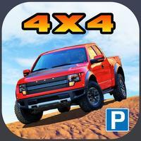 3D Off-Road Truck Parking 2 PRO - Extreme 4x4 Dirt Racing Stunt Simulator