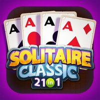 Solitaire Games:Classic SPIDER SCORPION 21 IN 1