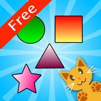QCat - toddler shape educational game (free)