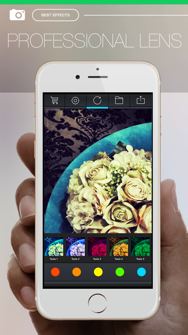 Pro FX Camera - camera effects filters plus photo editor App