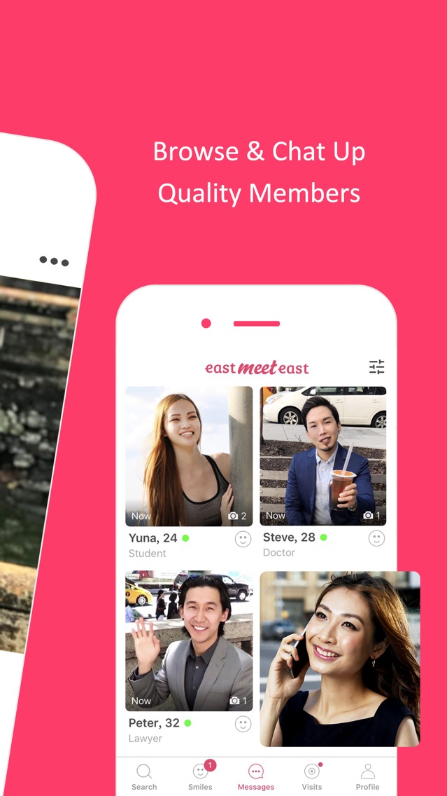 Aasian dating App iPhone