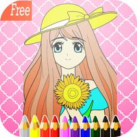 Games Princess coloring pages :  Art Pad Easy painting for little kids