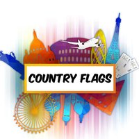 Flag Theme Puzzle Game & Spell Checker