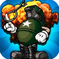 Army Grenade Bounce FREE - A Cool Military Rescue Blast