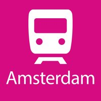 Amsterdam Rail Map Lite