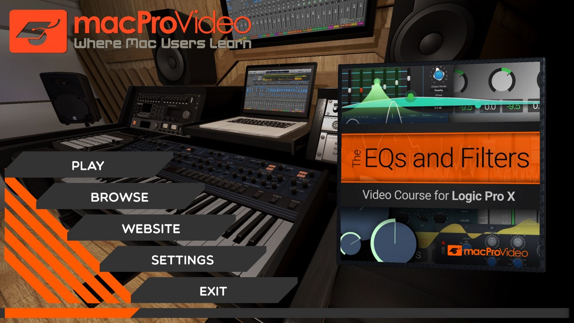 EQs and Filters Course By mPV App for iPhone - Free Download