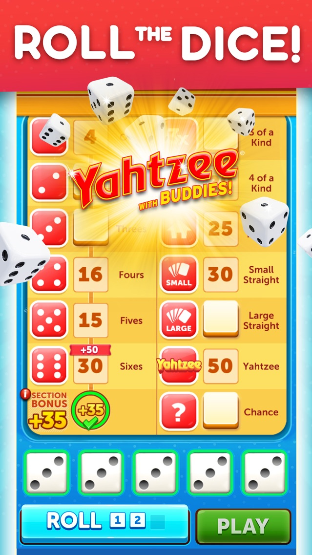 Yahtzee® with Buddies Dice App for iPhone - Free Download