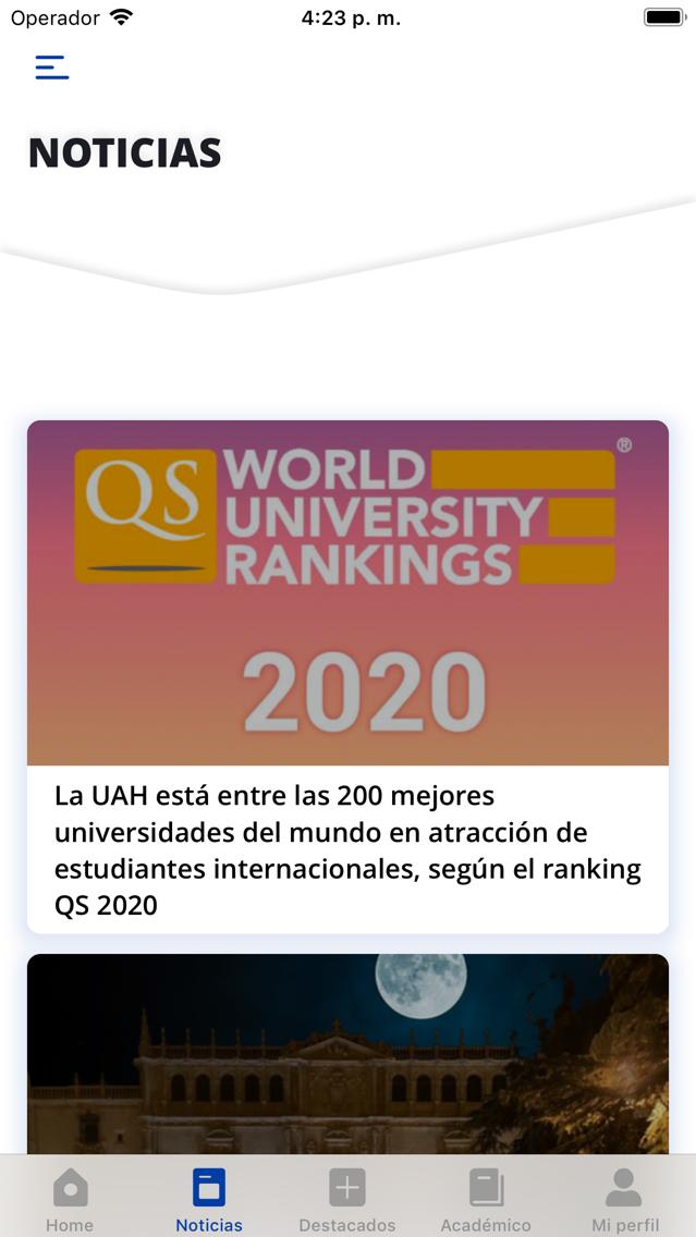 Uah Calendario Academico.Uah Universidad De Alcala App For Iphone Free Download Uah