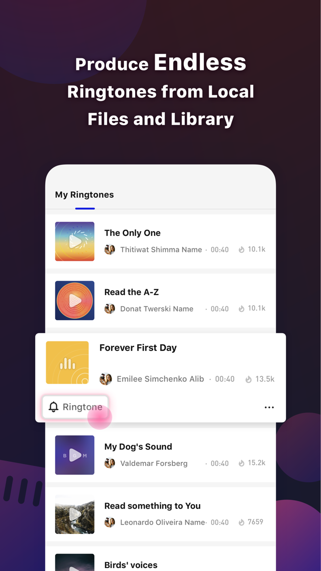 The Ringtoner - No PC Needed App for iPhone - Free Download