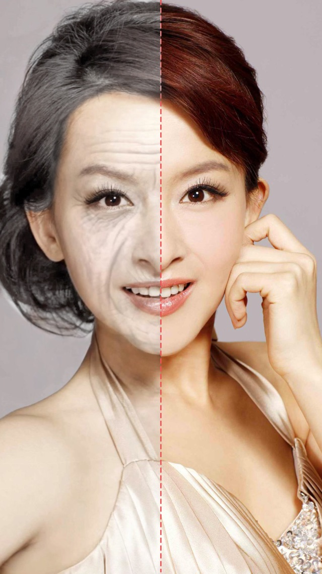 Old Face Video-Aging Swap Fx Live Gif Movie Maker App for