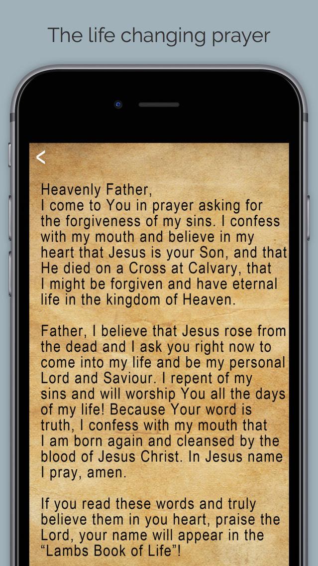 Sinner's Prayer - Find Jesus App for iPhone - Free Download