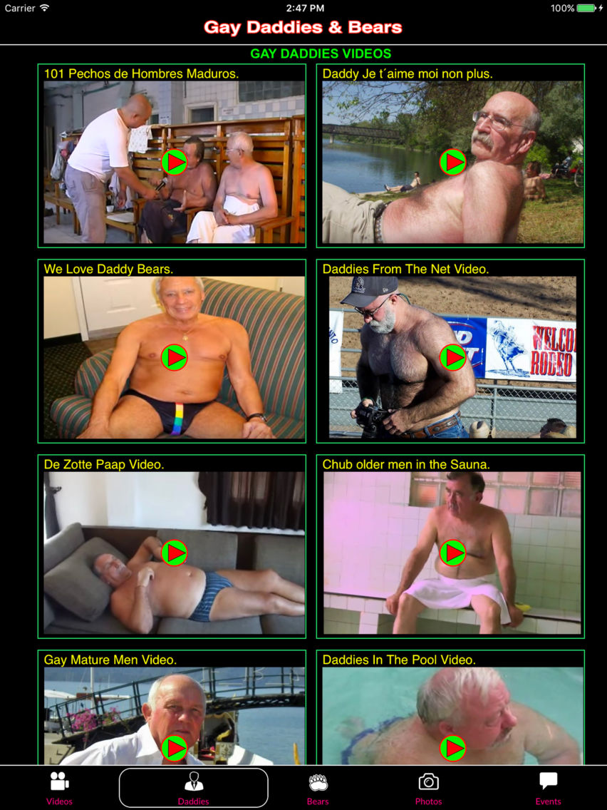 Bear Gay Maduros gay daddies & bears app for iphone - free download gay