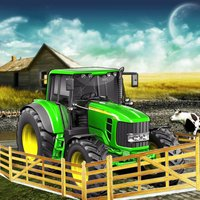 Rural Farm Tractor Driver 3d