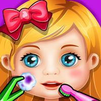 Crazy Kids Hospital - Doctor Rescue & Makeover Game