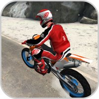 Winter Skill Driving Motorcycl