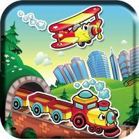 Kids Learning Treasures: Sticker Puzzles fun, iPad version