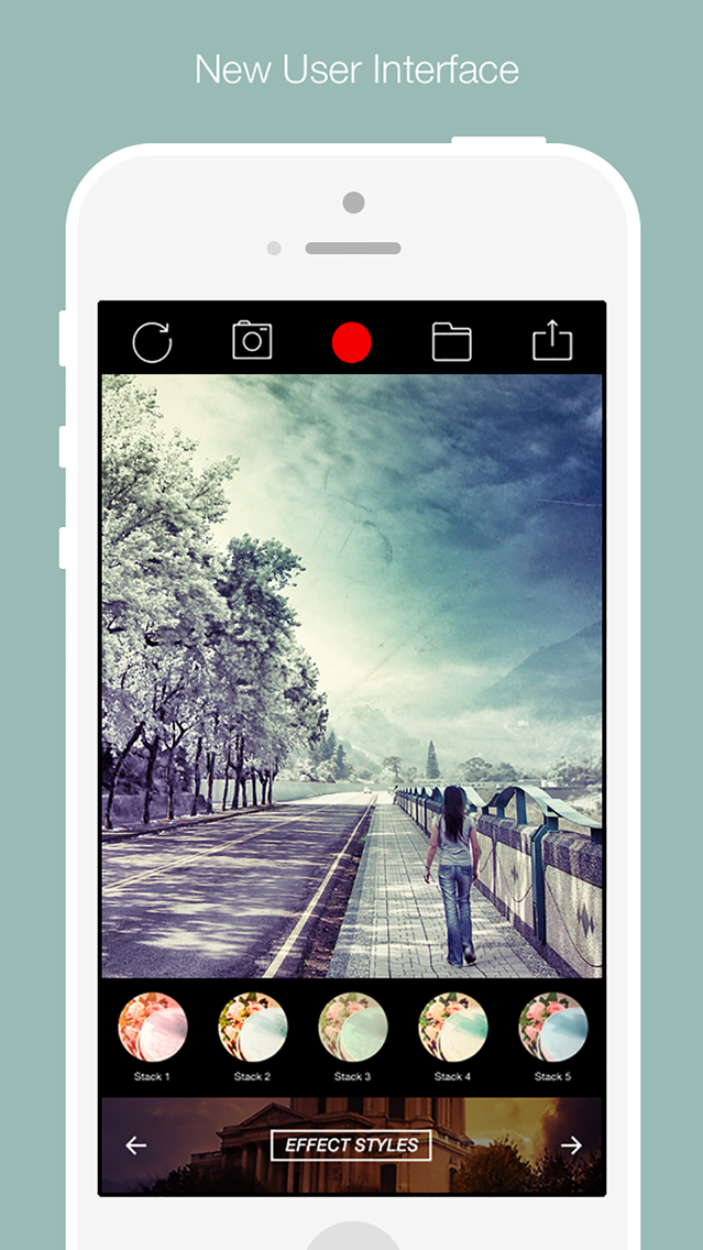 Camera Air 360 - camera effects plus photo editor App for iPhone
