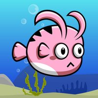 Pink Fish In The Ocean